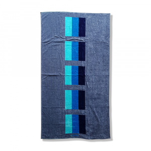 TELO MARE Cotone e spugna 95x180 cm Carrara MALDIVE BLU