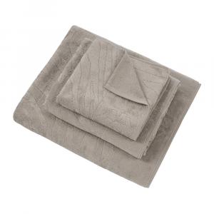 Roberto Cavalli set 1+1 asciugamano e ospite ZEBRAGE spugna - sabbia