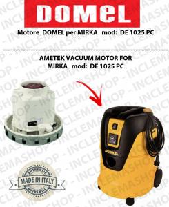 DE1025 PC MOTORE ASPIRAZIONE DOMEL per aspirapolvere MIRKA