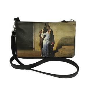 Merinda Line Art Woman Shoulder Bag with strap
