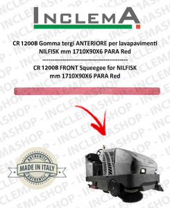 CR 1200 B Gomma tergi ANTERIORE per lavapavimenti NILFISK