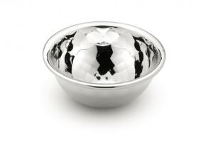 Ciotolina in argento argentato sheffield cm.2,5h diam.5,5