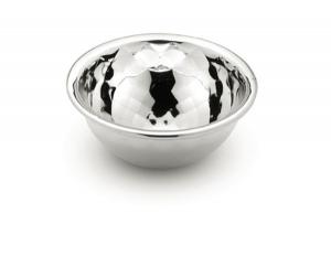 Ciotolina liscia in argento argentato sheffield cm.3h diam.7