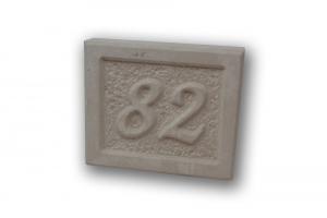 Numeri civici in pietra - Numero civico in pietra leccese scolpito a mano