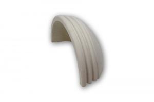 Applique in pietra leccese con torelli - lampada da parete in pietra