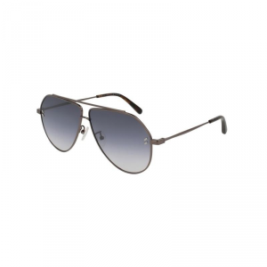 Stella McCartney  - Occhiale da Sole Donna, Ruthenium/Silver Shaded SC0063S 001 C60