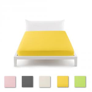 Bassetti PERFETTO Pop Color Lenzuolo con angoli sganciabili matrimoniale - vari colori
