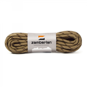 ZAMBERLAN® REPLACEMENT ROUND BOOT  LACES    -   Camo (Brown/Dark Brown)