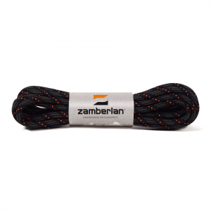 ZAMBERLAN® REPLACEMENT ROUND BOOT LACES    -   Graphite / Orange