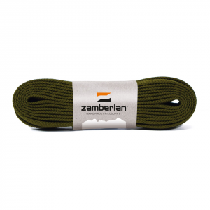 ZAMBERLAN® REPLACEMENT FLAT LACES   -   Dark Green