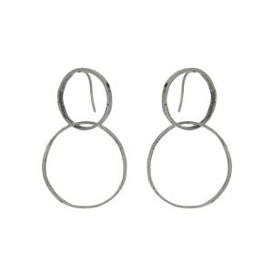 Orecchini cm. 6 in argento 925