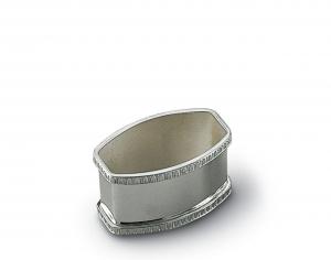 Legatovagliolo in argento massiccio bimbo stile Impero cm.4,8x3,3x2,8h