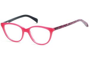 Guess - Occhiale da Vista Bambina, Shiny Fuxia GU 9159 075 C47