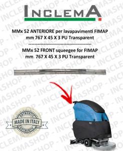 MMx 52 Gomma tergi ANTERIORE per lavapavimenti FIMAP (till s/n 211012836)