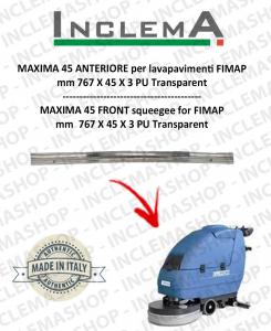 MAXIMA 45 Gomma tergi ANTERIORE per lavapavimenti FIMAP