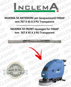 MAXIMA 50 Gomma tergi ANTERIORE per lavapavimenti FIMAP