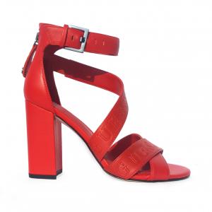 Sandalo rosso Guess