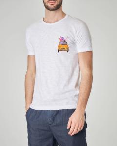 T-shirt bianca con stampa 500