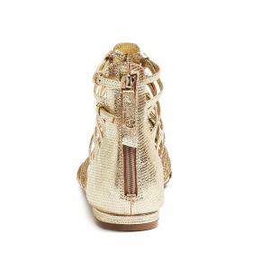 Sandalo alla schiava oro Guess