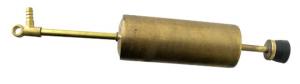 Pompante per sfida completa di tubo ottone