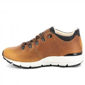 323 CORNELL LOW   -   Men's Leather Walking Shoes   -   Waxed Mustard