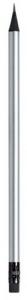 Matita color argento 19x0,73 cm.19x0,73x0,73h
