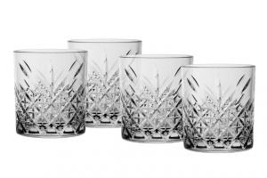 Set 4 Bicchieri Timeless Acqua in vetro CL 34,5 cm.9,6h diam.8,6