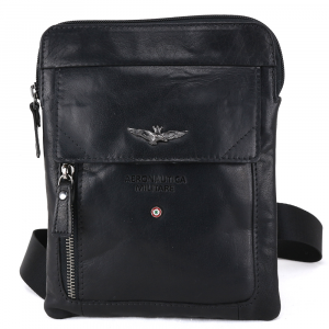 Shoulder bag Aeronautica Militare VINTAGE AM-301 NERO