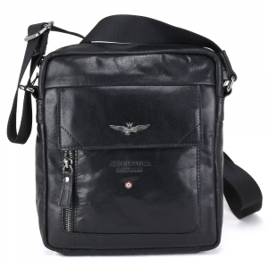 Shoulder bag Aeronautica Militare VINTAGE AM-303 NERO