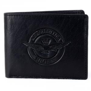 Man wallet Aeronautica Militare EAGLE AM-122 NERO