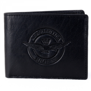 Man wallet Aeronautica Militare EAGLE AM-122 NERO