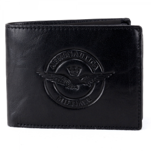 Man wallet Aeronautica Militare EAGLE AM-123 NERO