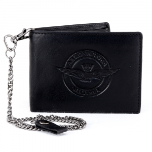 Man wallet Aeronautica Militare EAGLE AM-121 NERO