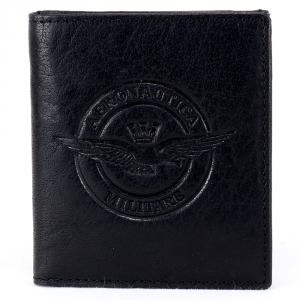 Man wallet Aeronautica Militare EAGLE AM-124 NERO