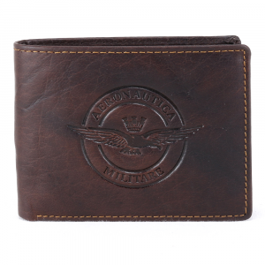 Man wallet Aeronautica Militare EAGLE AM-123 T. MORO