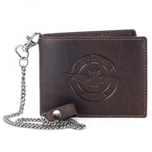 Man wallet Aeronautica Militare EAGLE AM-121 T. MORO