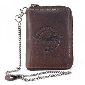Man wallet Aeronautica Militare EAGLE AM-125 T. MORO