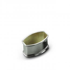 Legatovagliolo bimbo in argento massiccio stile Inglese cm.4,8x3,3x2,8h