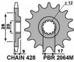 PIGNONE HM Z12 C428 2064M1218N