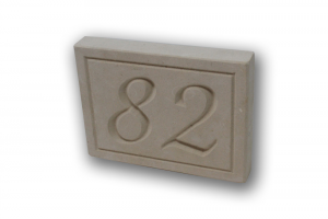 Numeri civici in pietra incisa  - Numero civico in pietra leccese