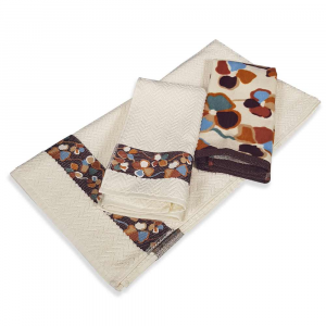 Missoni Bath set 3 towels - 1 bath towel + 2 hand towels MINDY floral