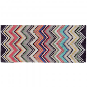 Bath rug Missoni Home ZIGZAG 70x160 WELDON 1870 g / m2 multicolored
