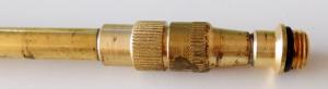 Prolunga ottone telescopica per irrorazione cm.50-100