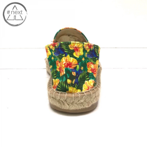 Fefè Glamour Pochette - Espadrillas Colibrì e fiori