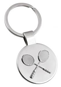 Portachiavi racchette Tennis cm.7,8x3,5x0,7h