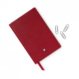 Blocco note #148 rosso, a righe, Cancelleria di lusso Montblanc