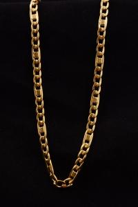 Catena per Croce Pettorale in Argento Dorato 7720 cm 90