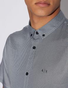 Camicia uomo ARMANI EXCHANGE con microfantasia
