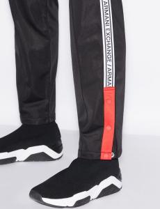 Pantaloni uomo ARMANI EXCHANGE con fettuccia logo laterale