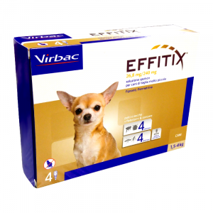 EFFITIX CANI da 1,5 ai 4 kg - SPOT-ON PER CANI
